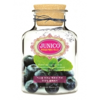 МЖ Junico Маска тканевая c экстрактом черники  Junico Blueberry Essence Mask